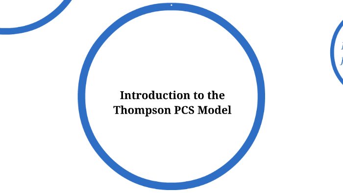 thompson pcs model