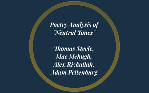 neutral tones thomas hardy context