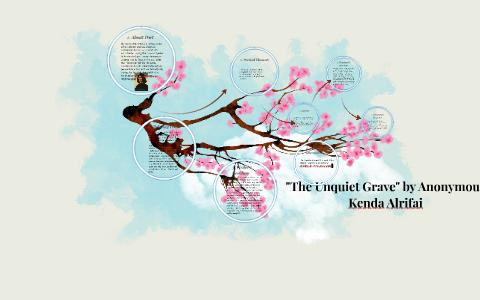 the unquiet grave poem analysis