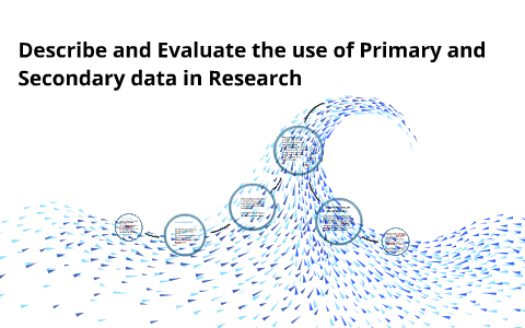 why use primary data