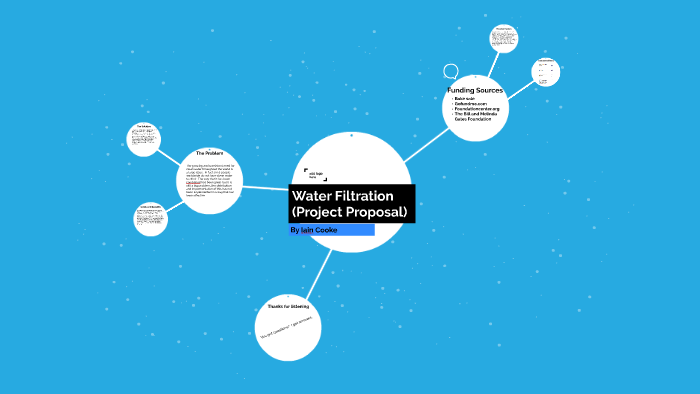 Water Filtration (Project Proposal) by Iain Cooke on Prezi