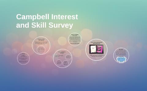 campbell interest & skill survey