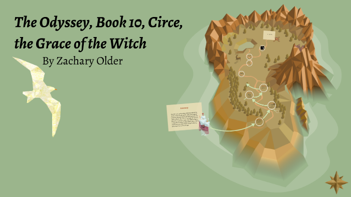 The Odyssey Book 10 Circe Thegrace Of The By Zachary