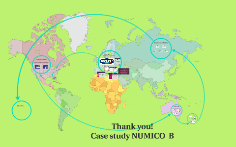 royal numico nv case study