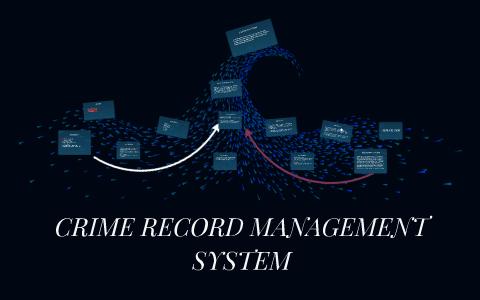 CRIME RECORD MANAGEMENT SYSTEM by Srinidhi EragamReddy on Prezi