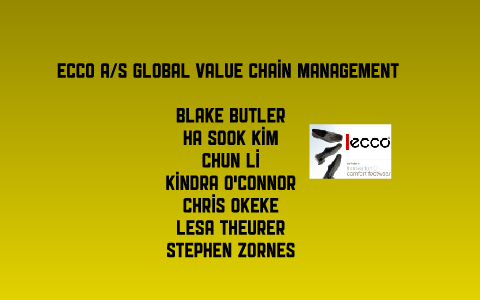 ECCO A/S Global Value Chain Management by Blake Butler on Prezi