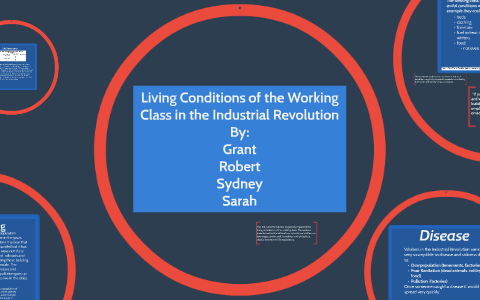 Living Conditions In The Industrial Revolution By Sarah Olsen On
