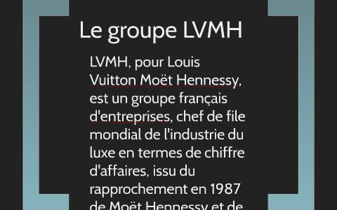 Le Groupe Lvmh By Gamlyava Nataliya On Prezi