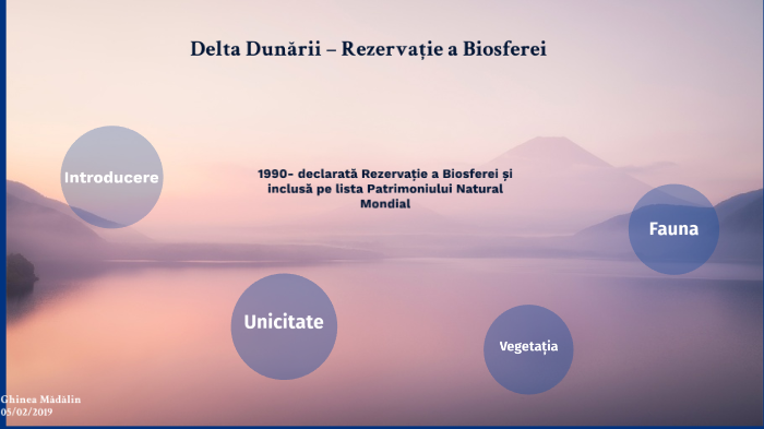Delta Dunării – Rezervație a Biosferei by Ghinea Mădălin on