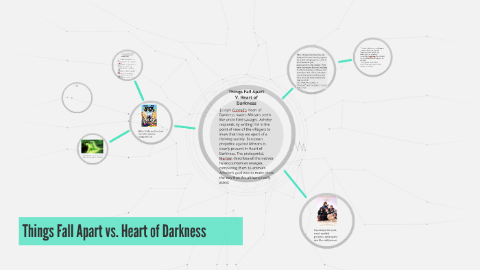 comparison between heart of darkness and things fall apart