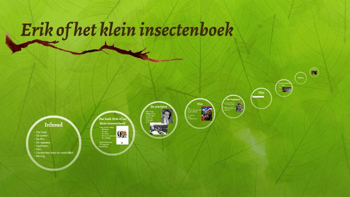 Erik Of Het Kleine Insectenboek By Baisha Rabellier On Prezi