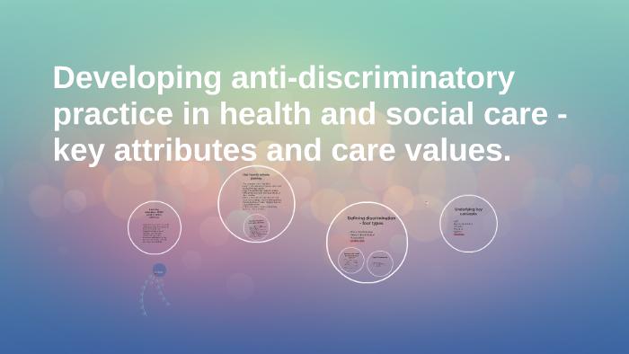what is anti discriminatory practice