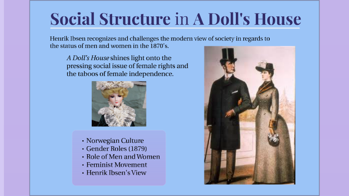 gender roles in a dolls house