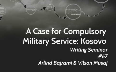 write about compulsory military service