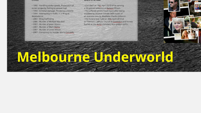 Melbourne Underworld by Rae Lopez on Prezi
