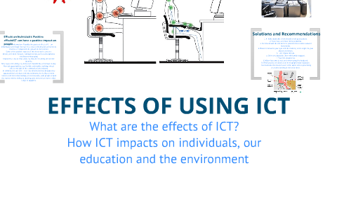 the effects of using ict