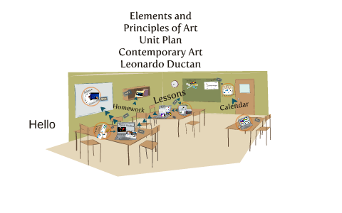 ELEMENTS OF PRINCIPLES OF ART LESSON PLAN by Leonardo Ductan