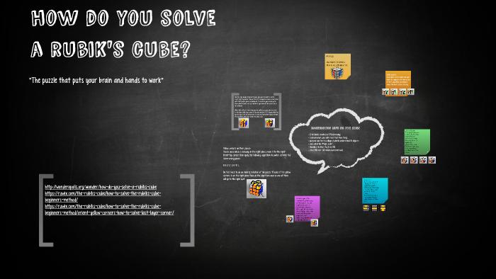 How Do You Solve A Rubik039s Cube By Brooklynn Johnson On Prezi