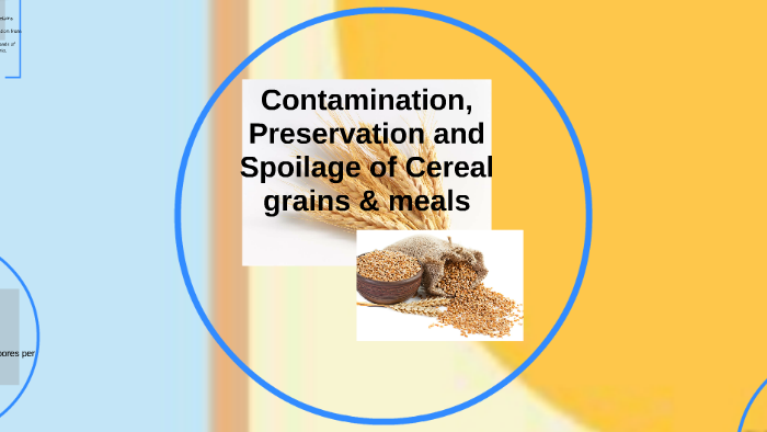 spoilage of cereals and cereal products