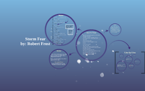 storm fear robert frost