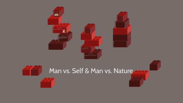 man vs himself conflict examples
