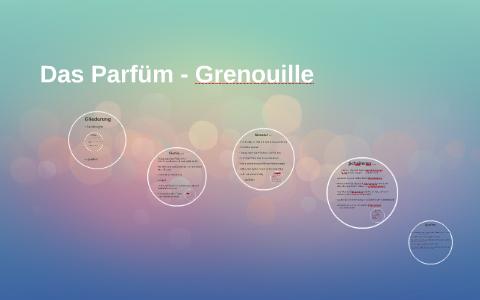 das parfum charakterisierung grenouille mit zitaten