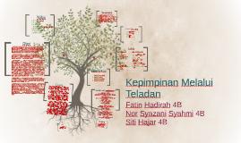 Kepimpinan Melalui Teladan By Syafiqah Hartini