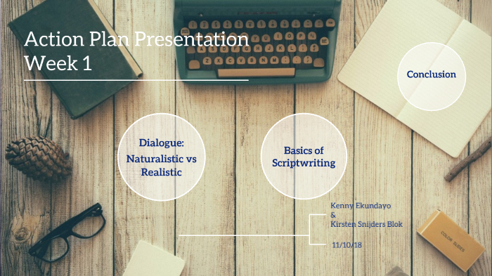 Scriptwriting Presentation by Kirsten & Kenny by Kirsten