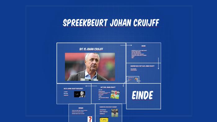 Spreekbeurt Johan Cruijff By Luuk Vd Wal On Prezi