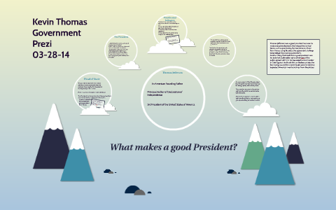 what makes a good president