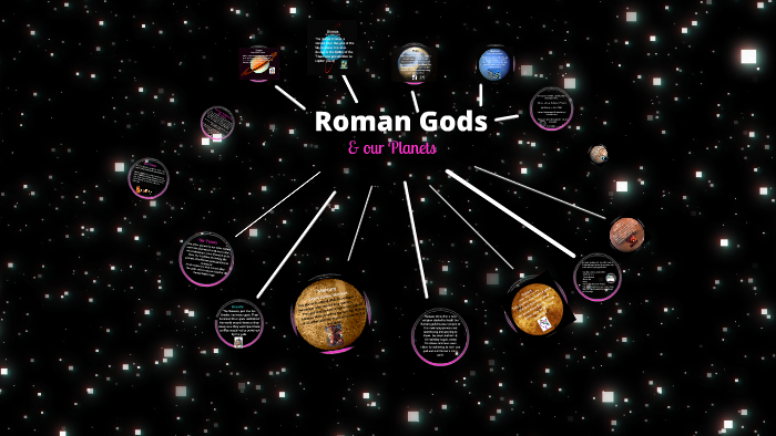 Roman gods and our planets by Melanie Barron on Prezi