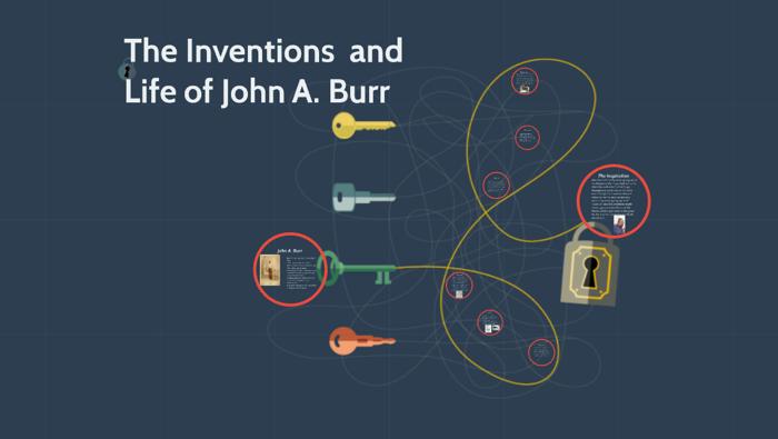 what did john albert burr invent