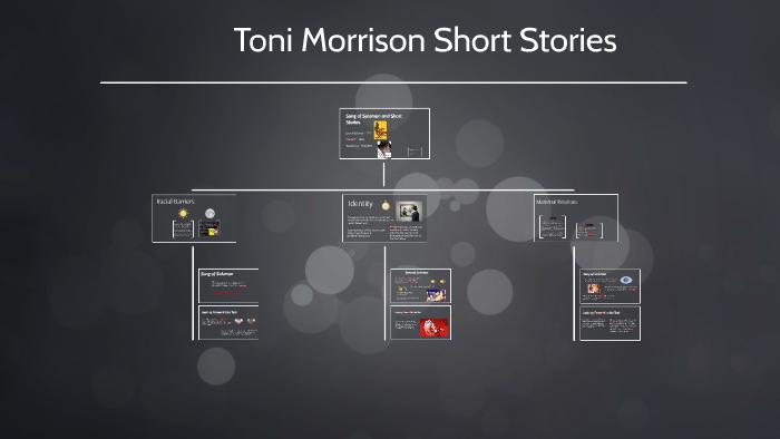toni morrison short stories