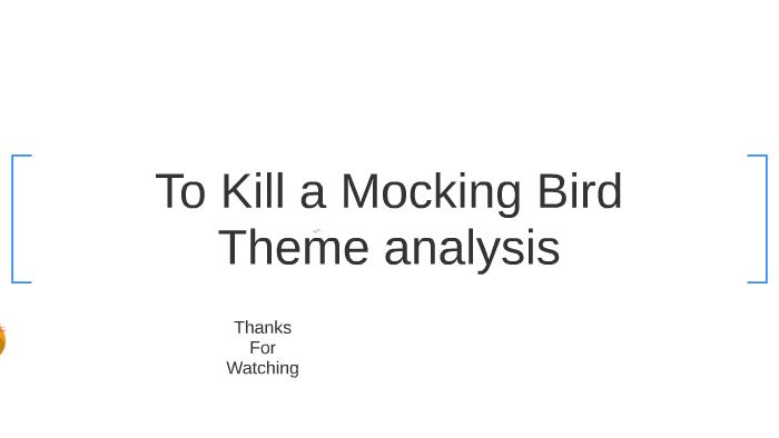 to kill a mockingbird major themes