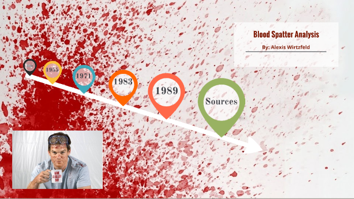 01 03 The History Of Forensic Science Blood Splatter Analysis By Alexis Wirtzfeld On Prezi Next
