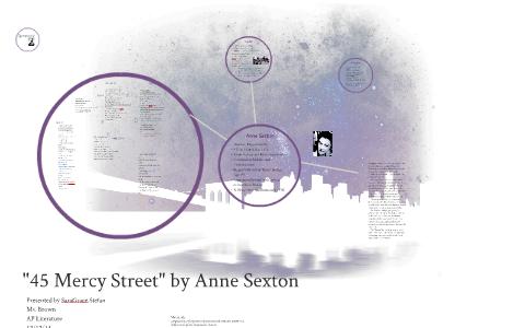 45 mercy street anne sexton analysis