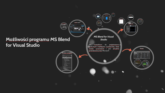 Możliwości programu MS Blend for Visual Studio by Michał