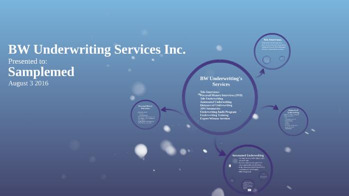 tele underwriting services