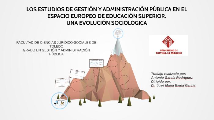 Los Estudios De Gestión Y Administración Pública En El Espac