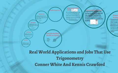 Real World Applications and Jobs That Use Trigonometry by