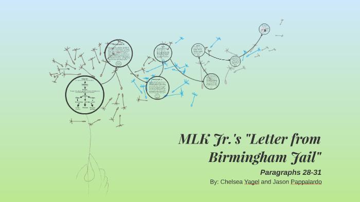 letter from birmingham jail analysis