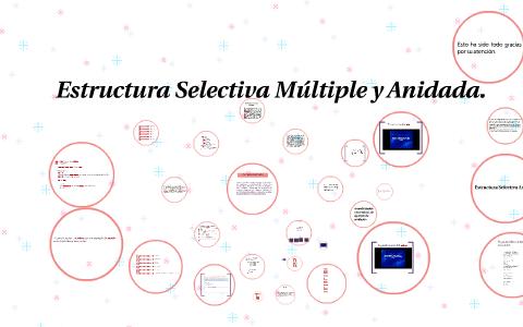 Estructura Selectiva Múltiple Y Anidada By Lilliam Serrano