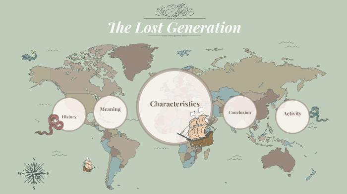 characteristics of lost generation