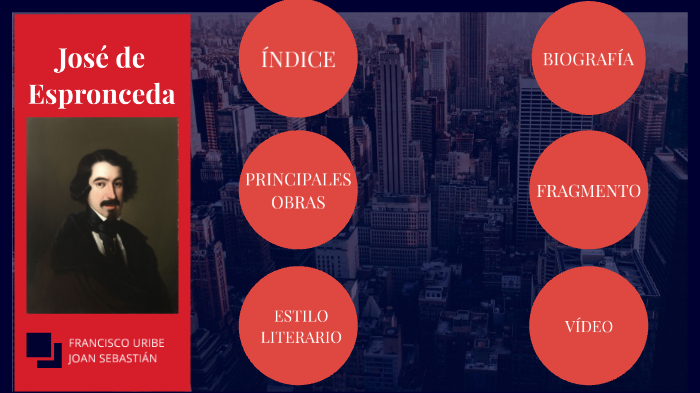 José De Espronceda By Trabajo Lengua