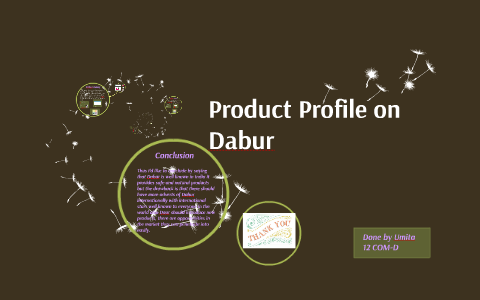 dabur product line