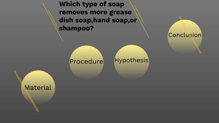 Which Type Of Soap Remove More Grease Dish Soap Hand Soap Or