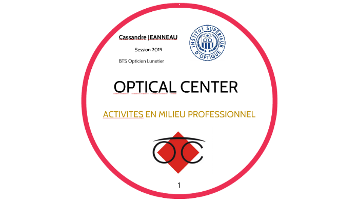 08bf99182b OPTICAL CENTER by Adrien Tourtoulou on Prezi