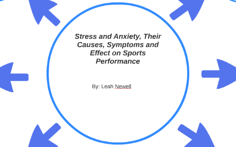 effects of stress and anxiety on sports performance