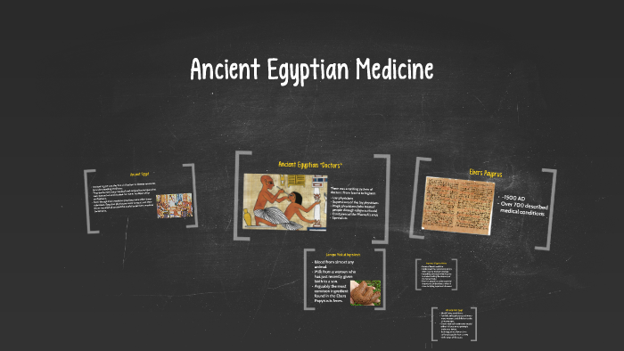 Ancient Egyptian Medicine by Cody Vogt on Prezi