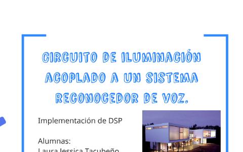Circuito de iluminación acoplado a un sistema reconocedor de
